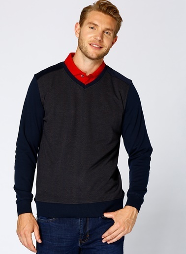 Cotton Bar Sweatshirt Kahve